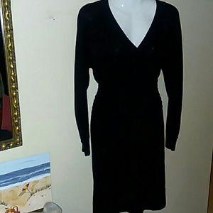 Nine West Black Sweater Dress
